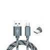 CABLE MICRO USB BLINDADO NEGRO MLAB