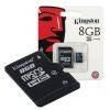 MEMORIA MICROSD KINGSTON 8GB