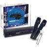 PAR DE MICROFONOS VHF INALMBRICOS POWERSOUND