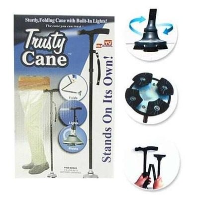 Baston Plegable Con Luz Magic Cane