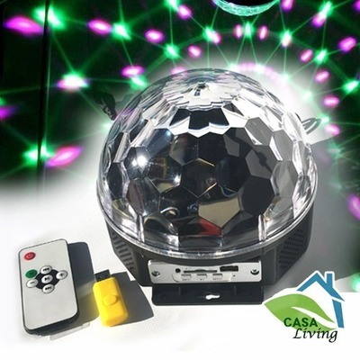 bola de disco LED