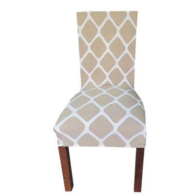 funda para silla comedor spandex diseño 38053