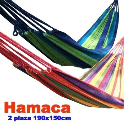 hamaca 2 plaza 190 x 150cm