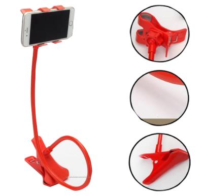 Soporte Porta Celular Largo Flexible Para Cama Mesa