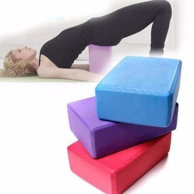 Ladrillo yoga cubo goma eva