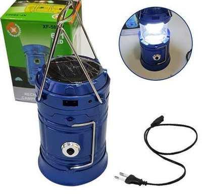 Lampara Solar Linterna Multifuncional  Carga 220V