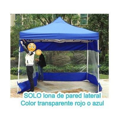 Lona De Pared Lateral Transparente Para Toldo 3x3mts