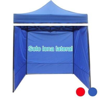 Lona De Pared Lateral Repuesto Para Toldo 3x3mts  Azul