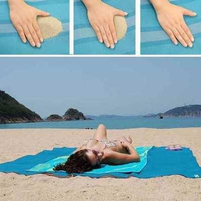 Manta Picnic Playa Libre De Arena Mat Camping Pesca 150x200