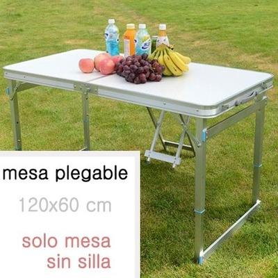 Mesa de camping 120x60cm