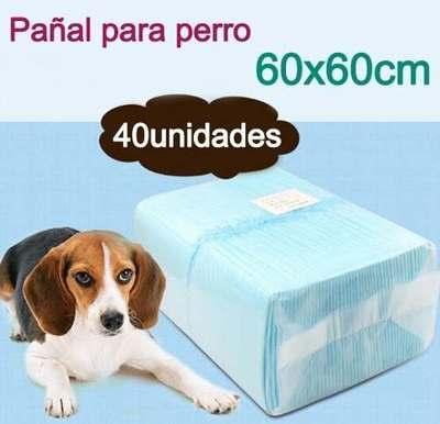 pañal sabanilla mascota  40unidades (60x60cm)