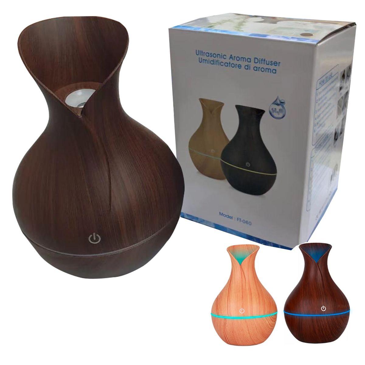 Humificador Electrico De Aire Y Difusor De Aroma 130ml