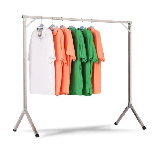 Perchero noel metalico colgador de ropa plegable portatil - Colgador de camisas ...