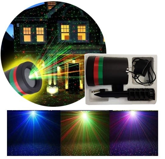 d561a5e1155 ... Proyector Luces Led Movimiento Navidad Laser