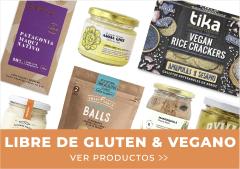 libre de gluten vegano