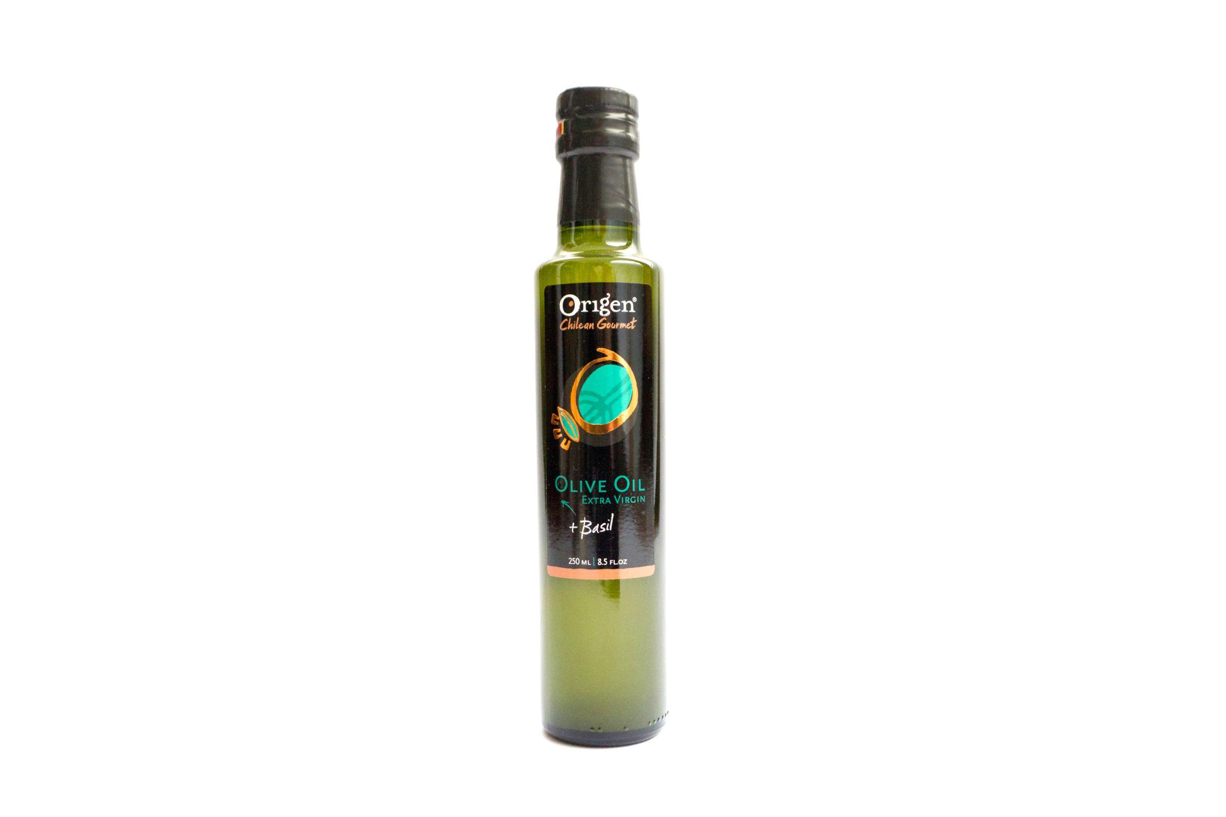 - ACEITE DE OLIVA CON ALBAHACA ORIGEN 250 ML -