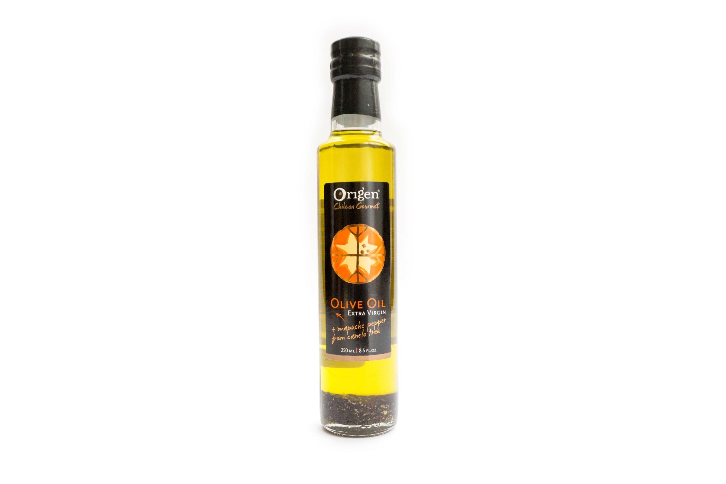- ACEITE DE OLIVA CON PIMIENTA DE CANELO ORIGEN 250 ML -