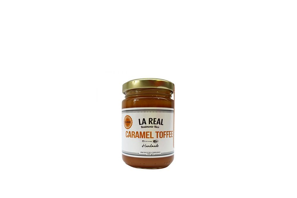 -CARAMEL TOFFEE LA REAL 160 GRS.-