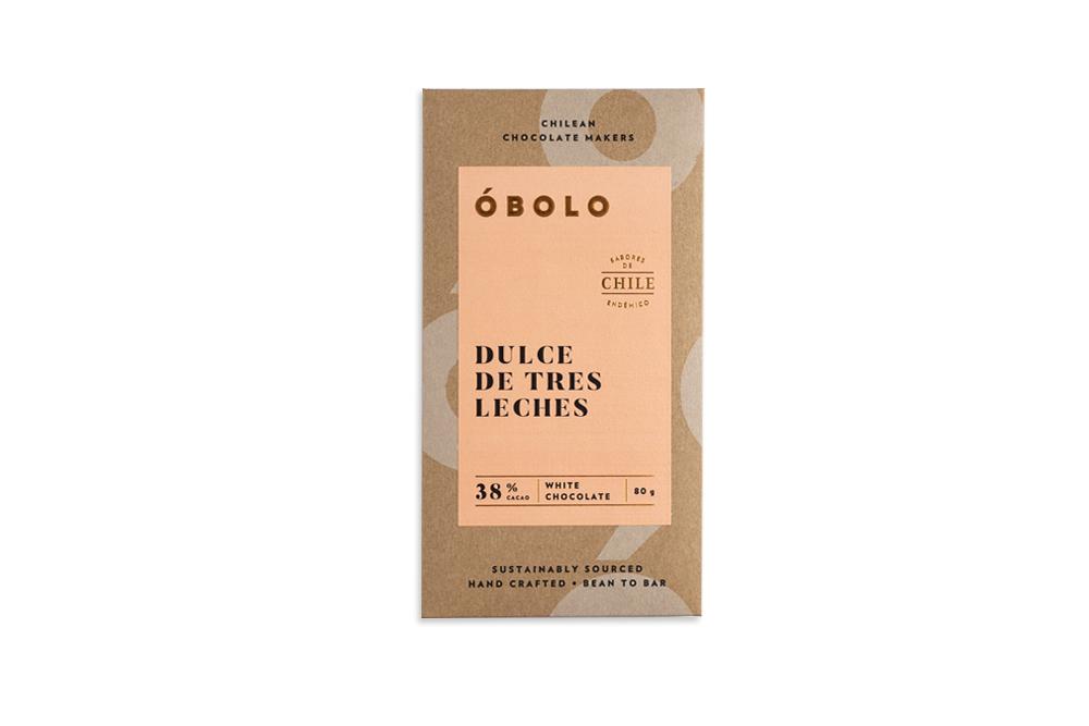 -CHOCOLATE DULCE DE TRES LECHES ÓBOLO 80 GRS.-