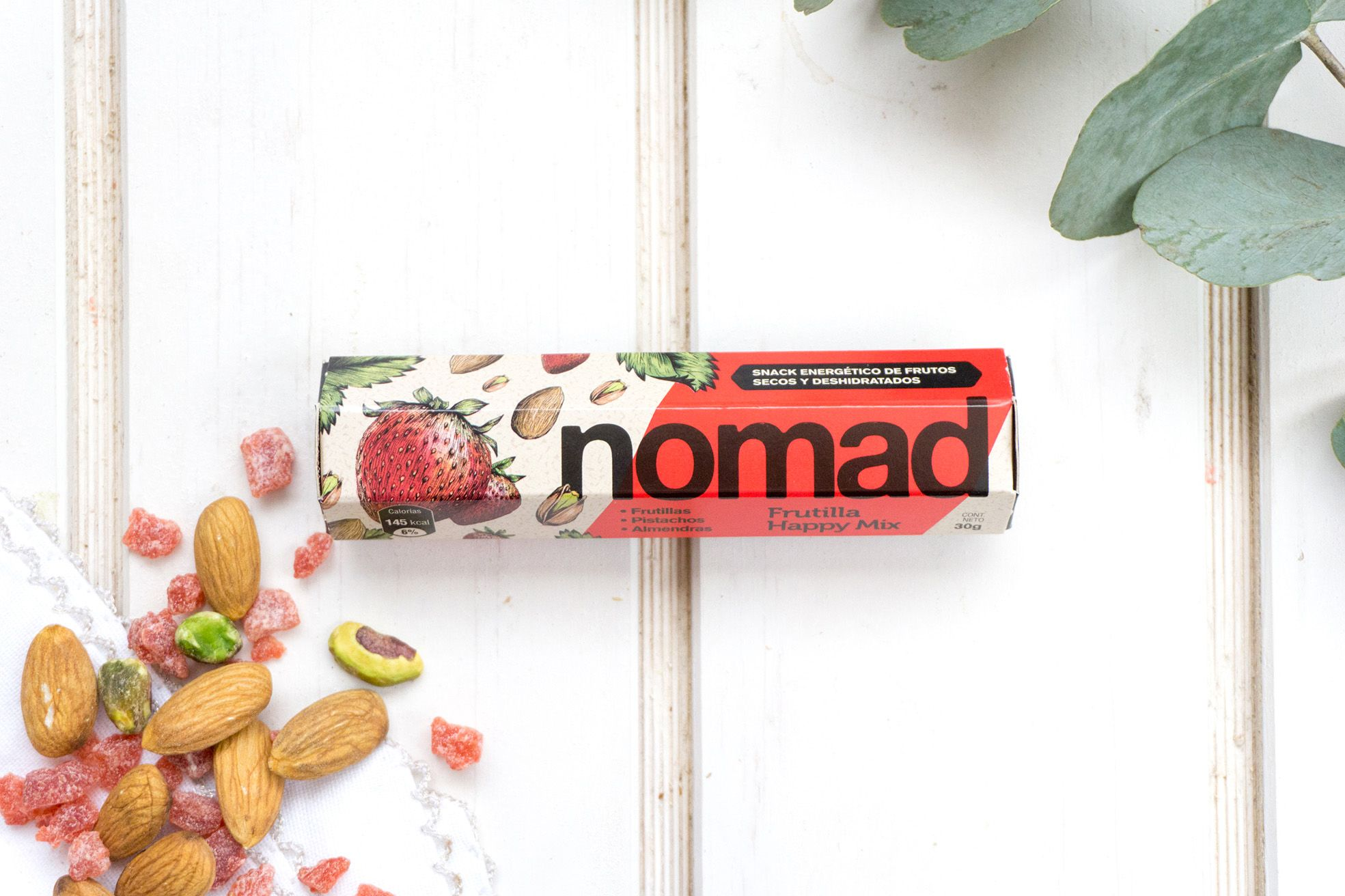 - FRUTILLA HAPPY MIX NOMAD 30 GRS.-