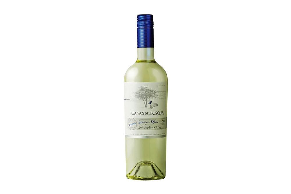 -VINO CASAS DEL BOSQUE RESERVA SAUVIGNON BLANC 750 CC.-