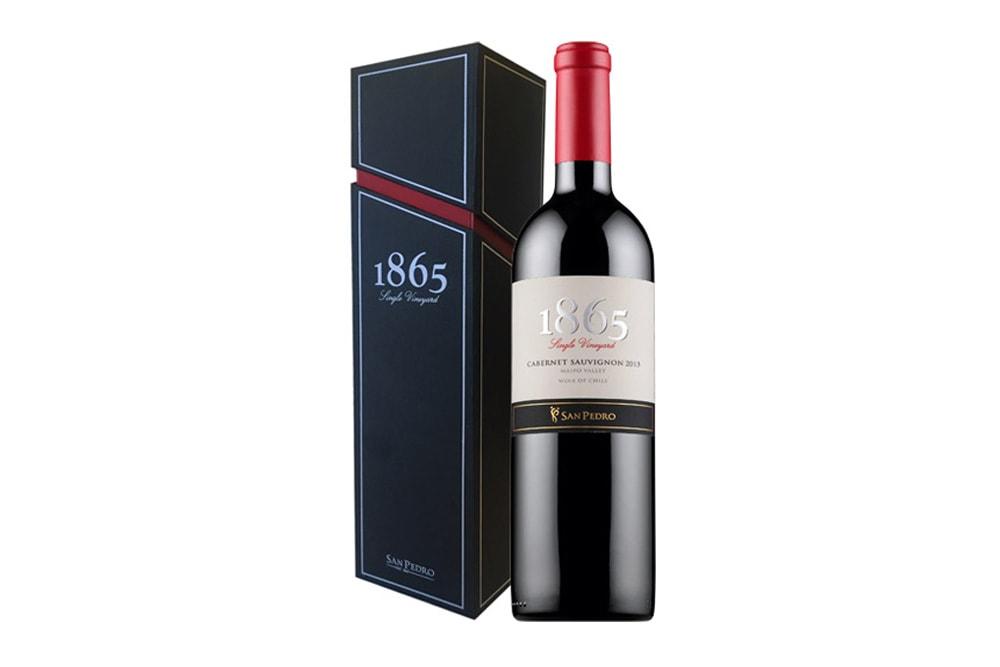 -VINO SAN PEDRO 1865 SINGLE VINEYARD 750 CC.- Incluye caja de regalo