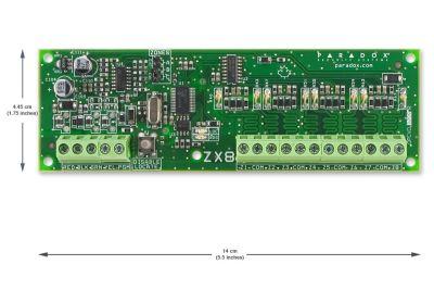 MODULO EXPANSOR 8 ZONAS ZX8 EVO192