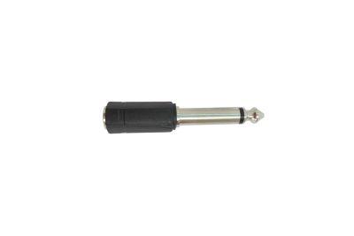 ADAPTADOR 6.4/3.5H PARA CABLE RCA MONO K-306A