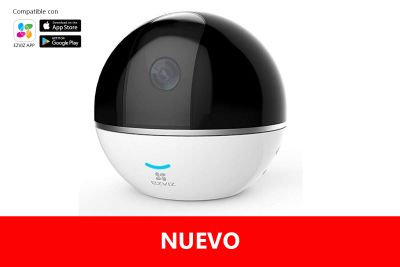 DOMO IP PT 360º FULL HD AUDIO WIFI C6T
