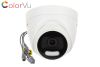 DOMO TVI COLORVU 2MP LUZ 20M DS-2CE72DFT-FC