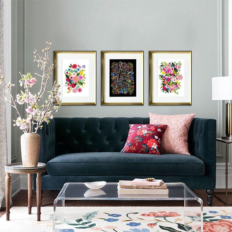 Tres Cuadros Florales