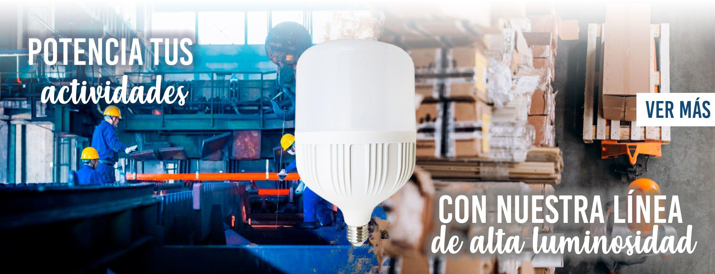 Ampolletas LED Alta Potencia