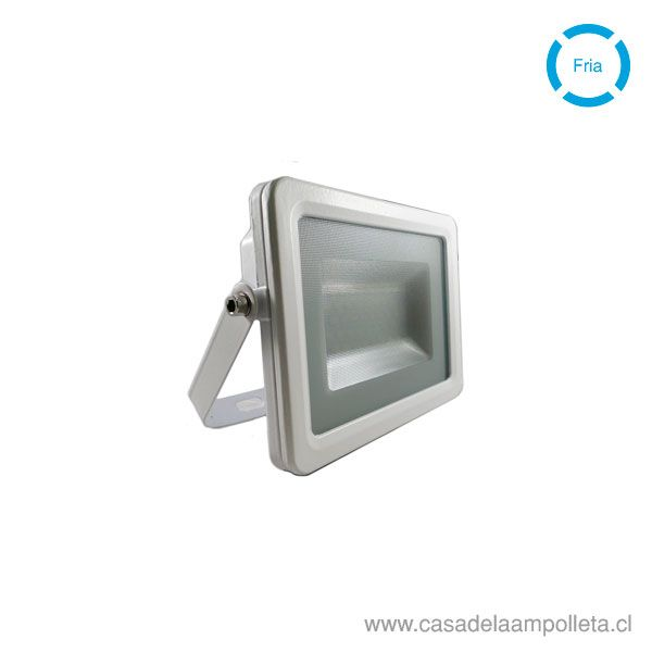 PROYECTOR LED PLANO 20W - BLANCO FRIO (6500K)