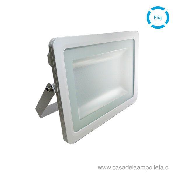 PROYECTOR LED PLANO 100W BLANCO - BLANCO FRIO (6500K)