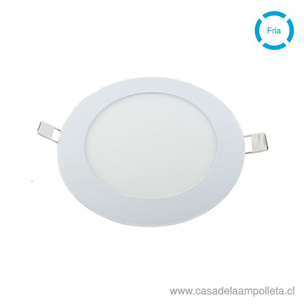 PANEL LED REDONDO EMBUTIDO 12W - BLANCO FRIO (6500K)