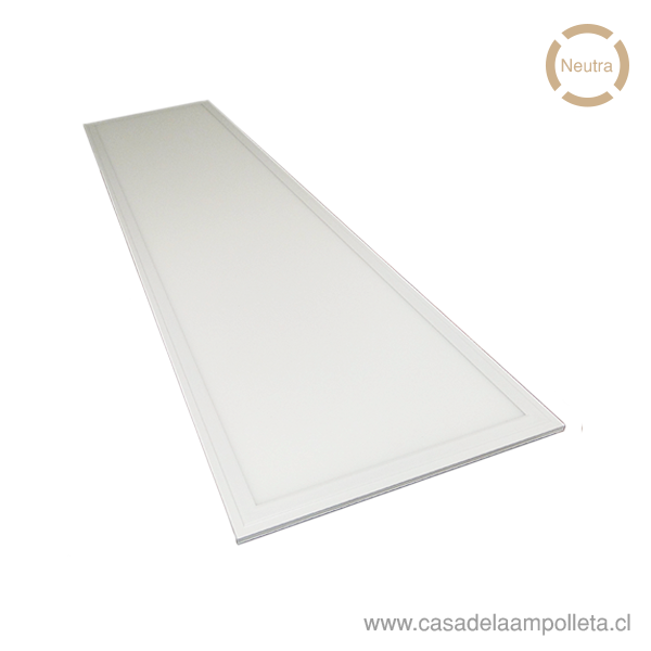 PANEL LED 120X30 EMBUTIDO 40W - BLANCO NEUTRO (4000K)