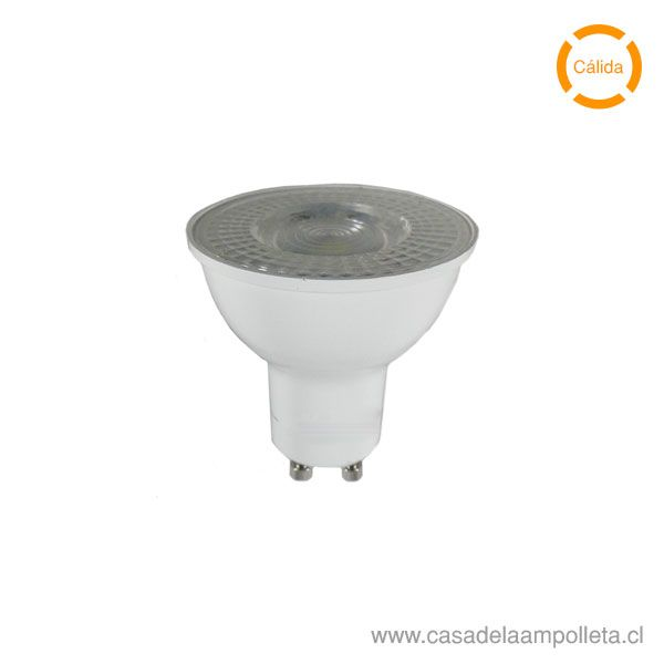 AMPOLLETA LED GU10 5W - BLANCO CÁLIDO (3000K)