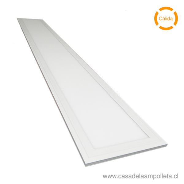 PANEL LED 120X60 EMBUTIDO 80W - BLANCO CÁLIDO (2700K)