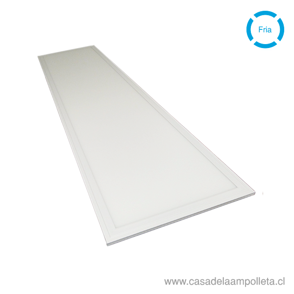 PANEL LED 120X30 EMBUTIDO 40W - BLANCO FRÍO (6500K)