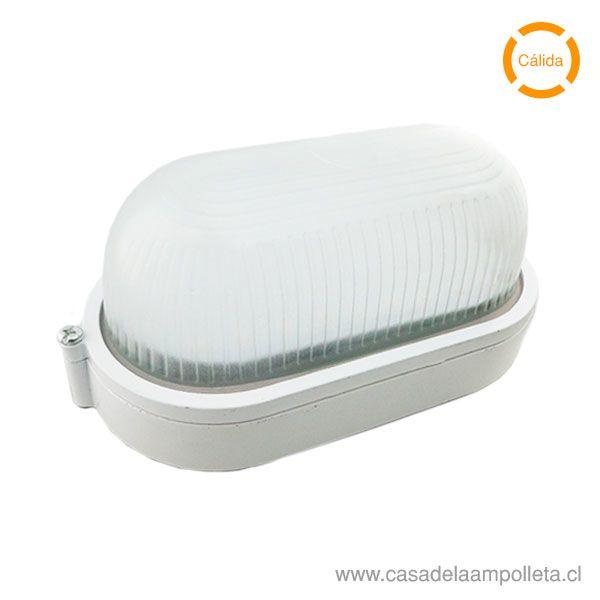 FOCO TORTUGA LED OVALADO 10W BLANCO - BLANCO CÁLIDO (3000K)