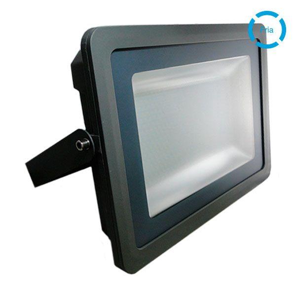PROYECTOR LED PLANO 200W GRIS - BLANCO FRIO (6500K)