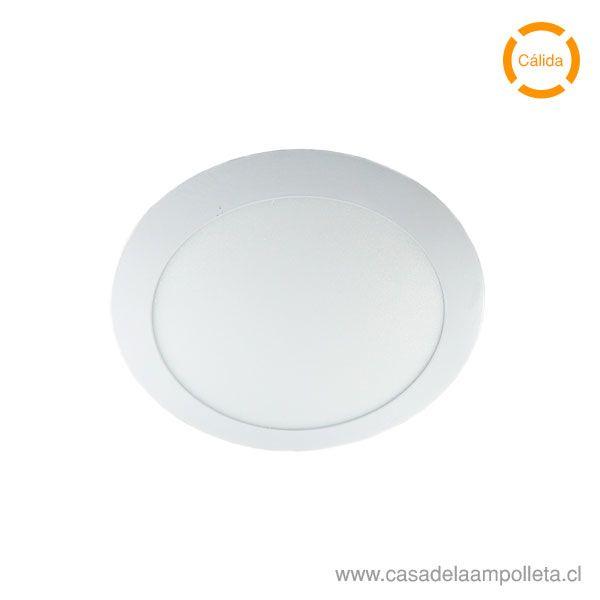 PANEL LED REDONDO EMBUTIDO 18W - BLANCO CÁLIDO (3000K) LOGIC