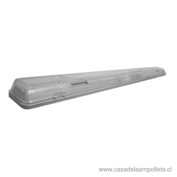 EQUIPO ESTANCO PARA TUBO LED 2X18W