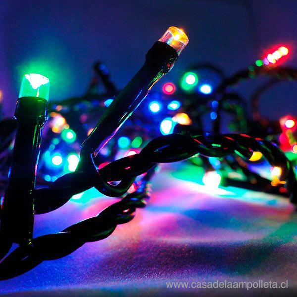 LUCES DE PASCUA 60 LEDS - RGB