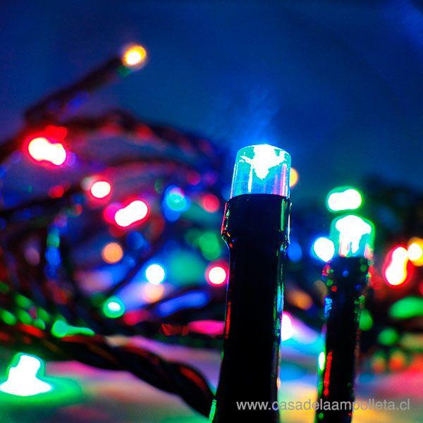 LUCES DE PASCUA 100 LEDS - RGB