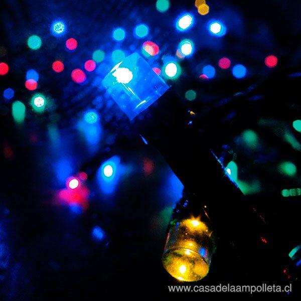 LUCES DE PASCUA 200 LEDS - RGB