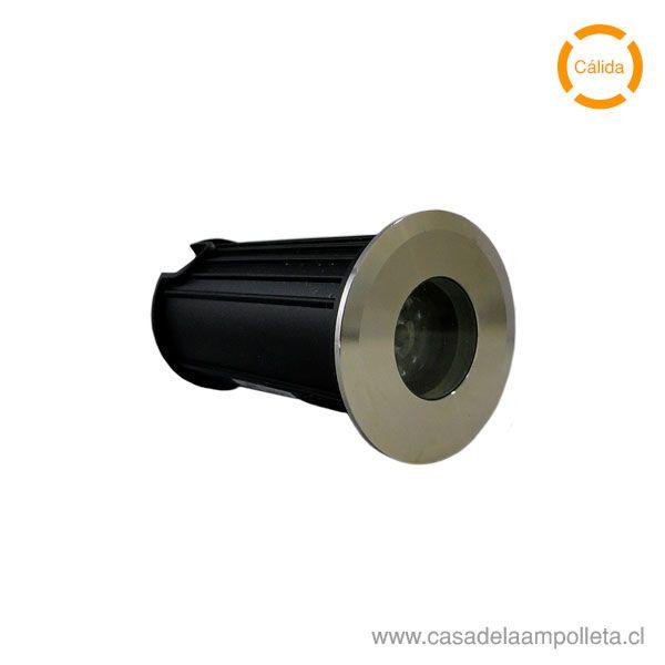 FOCO LED DE PISO 3W - BLANCO CÁLIDO (3000K)