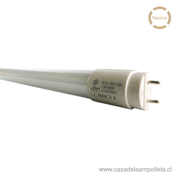 TUBO LED 18W 120CM - BLANCO NEUTRO (4000K)