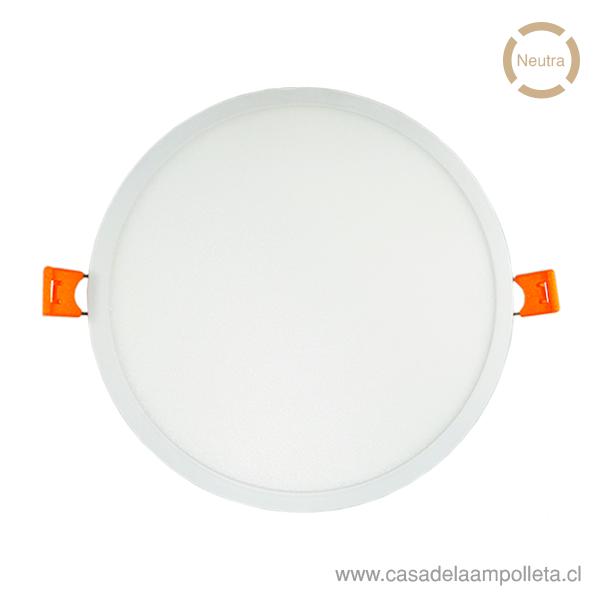 PANEL LED REDONDO EMBUTIDO 22W - BLANCO NEUTRO (4000-4500K)
