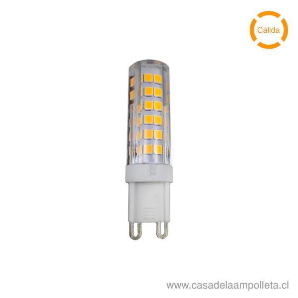 AMPOLLETA LED G9 6W - BLANCO CÁLIDO (3000K)